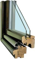 Details Holzfenster IV 68 Softline